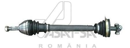 Запчасть 30380 ASAM Піввісь ліва ABS+ Dacia Logan 1.4/1.6 04- фото