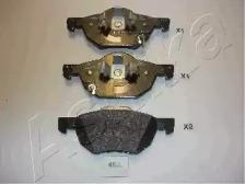 Запчасть 50-04-452 ASHIKA Колодки тормозные дисковые передние HONDA ACCORD VII (пр-во ASHIKA) фото