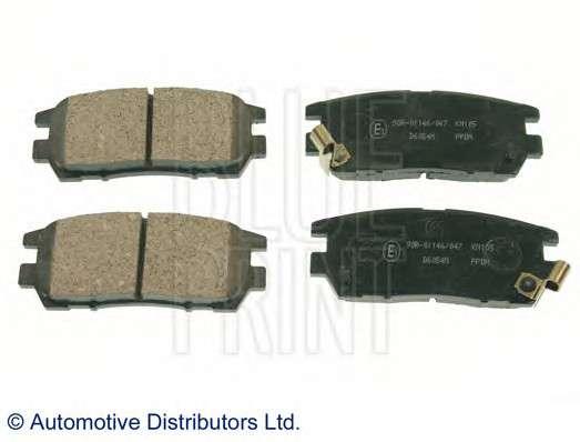 Запчасть ADC44243 BLUE PRINT Колодки тормозные дисковые задние Mitsubishi (пр-во Blue Print) фото