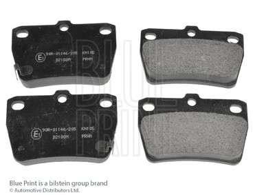 Запчасть adt342122 blueprint Комплект тормозных колодок, дисковый тормоз