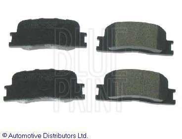 Запчасть adt342129 blueprint Комплект тормозных колодок, дисковый тормоз