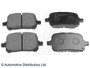 Запчасть adt34290 blueprint Комплект тормозных колодок, дисковый тормоз