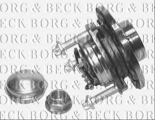 Запчасть BWK973 BORG & BECK BWK973 BORG & BECK - Комплект підшипника ступиці фото