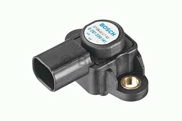 Запчасть 0261230191 bosch Датчик, давление наддува; Датчик, давление наддува; Датчик, давление во впускном газопроводе