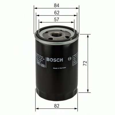 Запчасть 0451103316 BOSCH Фильтр масляный двигателя HYUNDAI, KIA (пр-во Bosch) фото