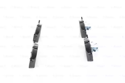 Комплект тормозных колодок, дисковый тормоз 0986494096 bosch