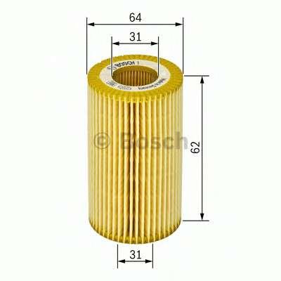 Запчасть 1457429194 BOSCH Фильтр масляный двигателя SKODA FABIA, ROOMSTER (пр-во Bosch) фото