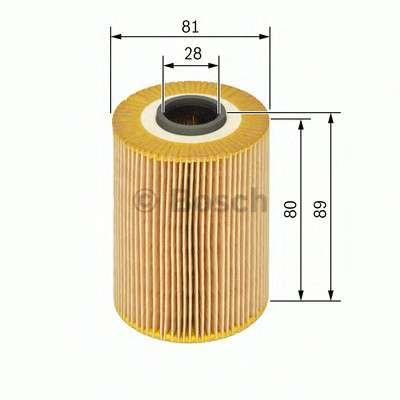 Запчасть 1457429760 bosch Масляный фильтр
