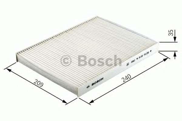 Запчасть 1987432409 BOSCH Фильтр салона FORD (угольный) (пр-во Bosch) фото