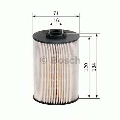 Запчасть f026402101 bosch Топливный фильтр
