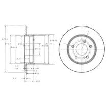 Запчасть BG3326C DELPHI Тормозной диск фото