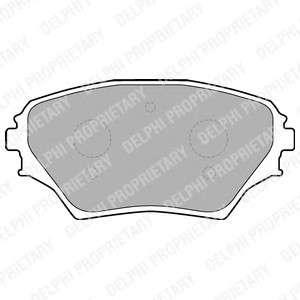 Запчасть LP1632 DELPHI Гальмівні колодки, дискові фото