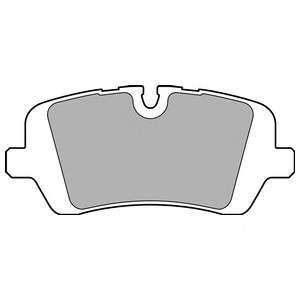 Запчасть LP2508 DELPHI Гальмівні колодки, дискові фото