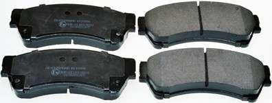 Запчасть b110986 denckermann Комплект тормозных колодок, дисковый тормоз