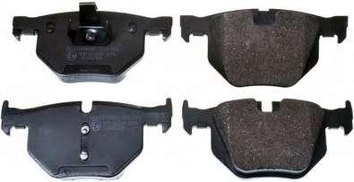 Запчасть B111143 DENCKERMANN Гальмівні колодки дискові зад. BMW 3 (E90, E91, E92),X1 (E84) 2.0-3.0 05- /X5 (E70) 3.0d 08- фото