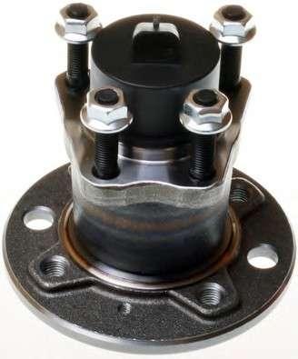 Запчасть W413353 DENCKERMANN Ступиця (підшипник) зад. Opel Astra F, G, Combo C, Vectra A, B, Lanos 1.6 (+ABS) (4 болта) фото