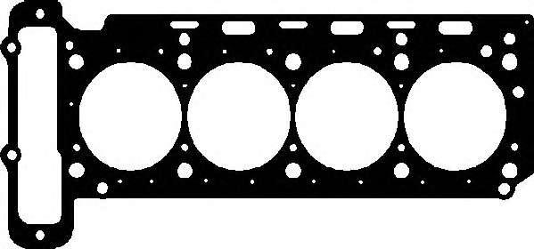 Запчасть 895.960 ELRING Прокладка головки блока арамідна фото