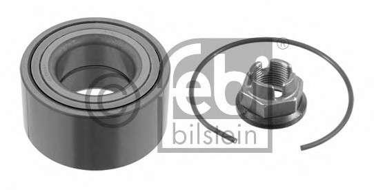 Запчасть 05528 FEBI BILSTEIN Підшипник призначений для монтажу на маточину, кульковий, з елементами монтажу фото