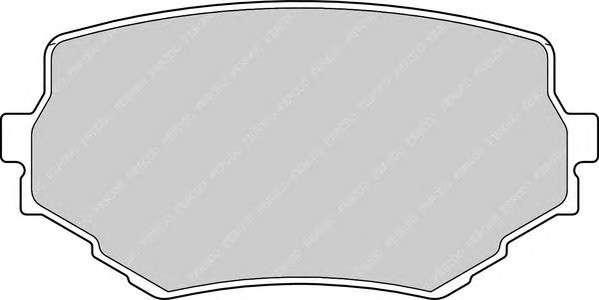 Запчасть FDB1565 FERODO Гальмівні колодки, дискові фото