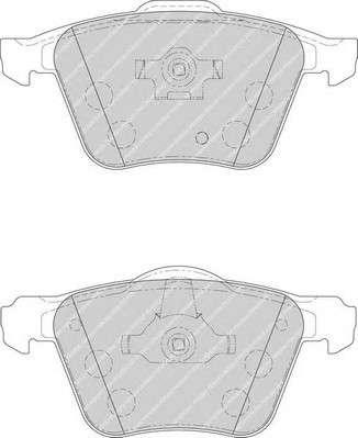 Запчасть FDB1631 FERODO Колодки гальмівні дискові фото