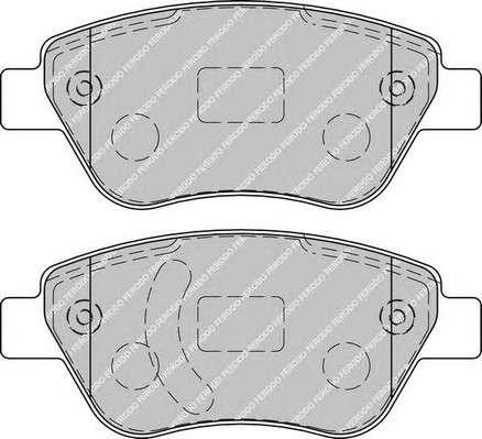 Запчасть FDB1920 FERODO Колодки гальмівні дискові фото