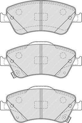 Запчасть FDB4046 FERODO Колодки гальмівні дискові фото