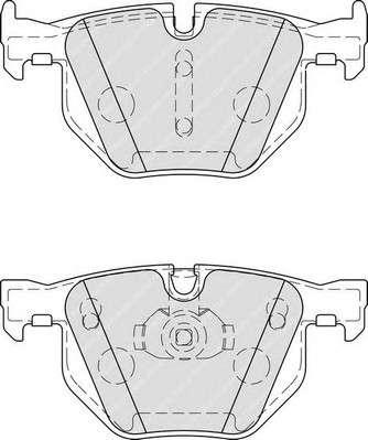 Запчасть FDB4067 FERODO Гальмівні колодки, дискові фото