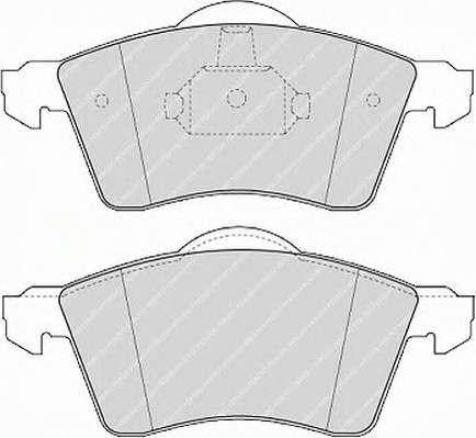 Запчасть FVR1163 FERODO Гальмівні колодки, дискові фото