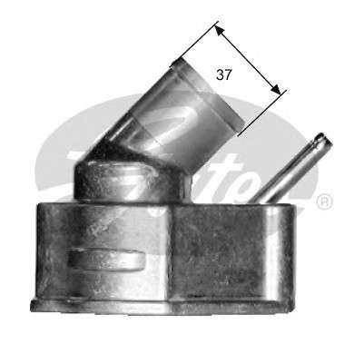 Запчасть TH14992G1 GATES Термостат фото