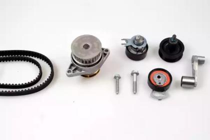 Запчасть PK05580 HEPU Комплект ГРМ, пас+ролик+помпа фото