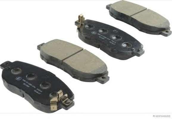 Запчасть J3602072 HERTH + BUSS JAKOPARTS Колодки тормозные дисковые передние LEXUS, TOYOTA (пр-во Jakoparts) фото