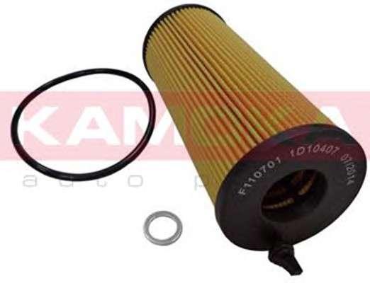 Запчасть F110701 KAMOKA Фильтр масляный (вкладыш) BMW 1 (E81/E87) 06'-12';3 (E90) 05'-11';5 (E60) 07'-10';X1 09'->;X3 0 фото