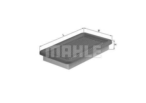 Запчасть lx542 mahle Воздушный фильтр