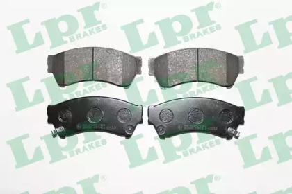 Запчасть 05P1413 LPR 05P1413  LPR - Гальмівні колодки до дисків (F, V, з датчиком) фото