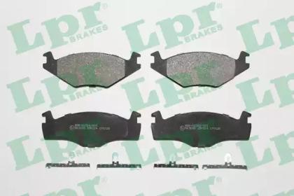 Запчасть 05P224 LPR Колодка торм. диск. SEAT IBIZA II (6K1), VW GOLF II (19E, 1G1), PASSAT (32B) передн. (пр-во LPR) фото