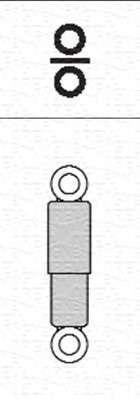 Запчасть 351838070000 MAGNETI MARELLI Амортизатор (задний) фото