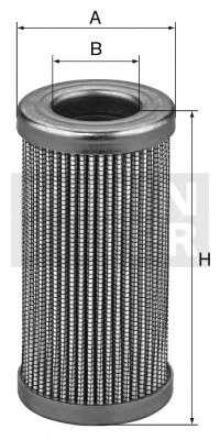 Запчасть hd9295 mannfilter Фильтр, Гидравлическая система привода рабочего оборудования
