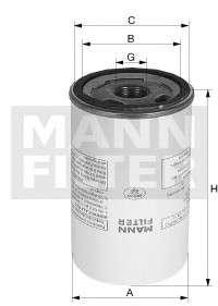 Запчасть lb1110221 mannfilter Фильтр, пневмооборудование