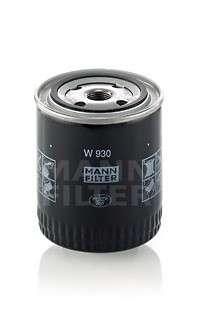 Запчасть w930 mannfilter Масляный фильтр; Фильтр, Гидравлическая система привода рабочего оборудования
