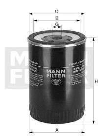 Запчасть WK9503 MANN FILTER Фільтр палива фото