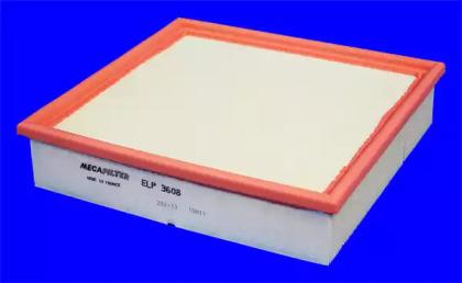 Запчасть ELP3608 MECAFILTER ELP3608 Фільтр повітря ( аналогWA6621/LX946) фото