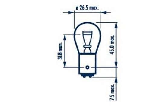 Запчасть 17916 narva Лампа накаливания, фонарь указателя поворота; Лампа накаливания, фонарь сигнала тормож/ задний габ огонь; Лампа накаливания, фонарь сигнала торможения; Лампа накаливания, задняя противотуманная фара; Лампа накаливания, фара заднего хода; Лампа накаливан