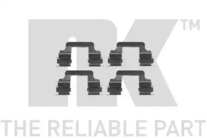 Запчасть 7947610 nk Комплектующие, колодки дискового тормоза