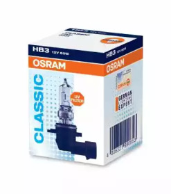 Запчасть 9005 OSRAM Лампа фарная HB3 12V 60W P20d (пр-во OSRAM) фото