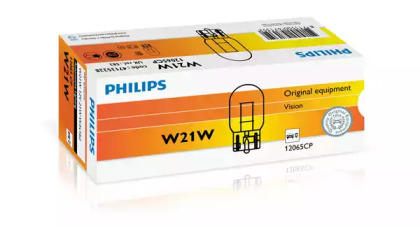 Лампа накаливания, фонарь указателя поворота; Лампа накаливания, фонарь сигнала тормож/ задний габ огонь; Лампа накаливания, фонарь сигнала торможения; Лампа накаливания, задняя противотуманная фара; Лампа накаливания, фара заднего хода; Лампа накаливан 12065cp philips