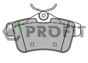 Запчасть 5000-4224 PROFIT Колодки гальмівні дискові фото