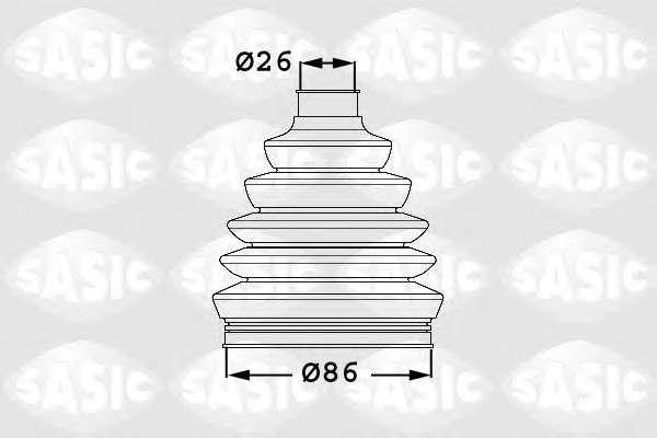Запчасть 1906041 SASIC 1906041   SASIC - Пильовик привідного валу фото