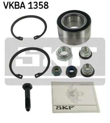 Запчасть VKBA1358 SKF Підшипник колеса,комплект фото
