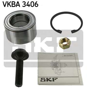 Запчасть VKBA3406 SKF Підшипник колеса,комплект фото