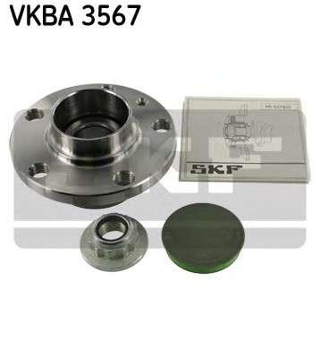 Запчасть VKBA3567 SKF Підшипник колеса,комплект фото
